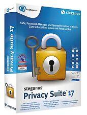 Steganos Privacy Suite 17 Daten schützen & Verschlüsseln inkl. PDF Experte 8 PRO