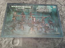 WARHAMMER 40K DARK ELDAR KABALITE WARRIORS 28MM MINIATURES NEW & SEALED