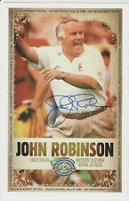 John Robinson AUTOGRAPH COLLEGE FOOTBALL HOF PHOTO SIGNED