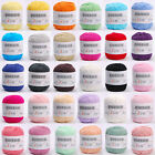 New 50g Cotton Baby Kids Yarn Balls Soft Knitting 32 Colors For Choose