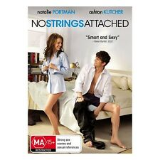 NO STRINGS ATTACHED-Ashton Kutcher, Natalie Portman-Region 4-New AND Sealed