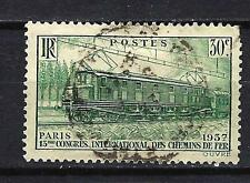 France 1937 chemins de fer Yvert n° 339 oblitéré 1er choix (3)