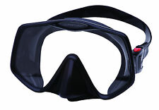 Atomic Frameless 2 UltraClear Dive Scuba Snorkeling Mask - LG Black - Used Once