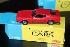CORGI / SOLIDO * FORD MUSTANG  * 1:43 * OVP * A CENTURY OF CARS