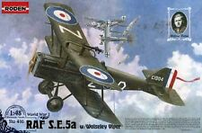 RAF SE 5a W / woleslay VIPER (mannock, vescovo, PROCTOR-RAF ACES MKGS) 1/48 Roden