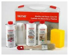 Akemi Care kit sealing, deep cleaning, polish of granite worktops, marble, stone