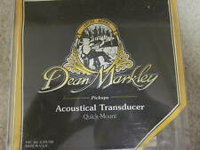 Dean Markley acoustical transducer-new'old stock'for guitar, in case