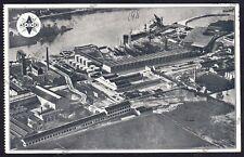 SPIDO LUBRIFICANTI GENOVA 03a GRAND QUEVILLY - ROUEN Cartolina viaggiata 1933