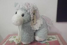 First & Main plush pony horse with rattle 9''