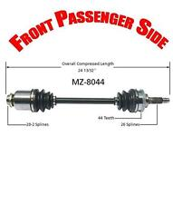 Front Passenger Side Cv Shaft Axle for Sephia 1998-2000 & for Kia Spectra 2000