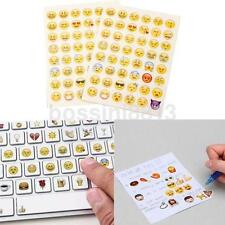 48 Cute Emoji Stickers Expression Emotion Planner Journal Android Smile Face CA