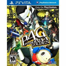 Persona 4 golden game PS Vita neuf