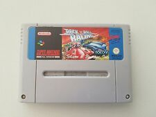 ROCK N ROLL RACING SNES SUPER NINTENDO nintendo game PAL nes