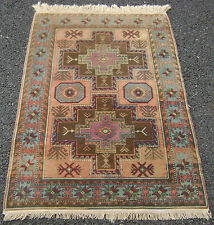 Fine antique early 20TH century erivan arménien caucasian rug hearth chevet tapis