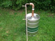 "Beer Keg Kit 2"" inch Copper Pipe Moonshine Still Pot Still Distillation Column"