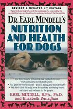 Dr. Earl Mindell's Nutrition and Health for Dogs