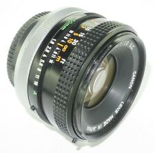 CANON FD BREECHLOCK MOUNT CANON JAPAN 50mm f/1.8 NIFTY FIFTY PRIME PORTRAIT LENS