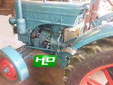 Ölfilterumbausatz Hanomag Traktor R16 R19 R21 R217 D14 Motor Perfekt 300 D21 Mot