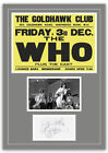 The Who 1965 Goldhawk Concert Poster and Autographs Memorabilia Poster 2 Sizes