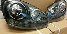 VW Golf MK5 R32 led ball Headlights All Black inner 2004 2005 2006 09 gti r32