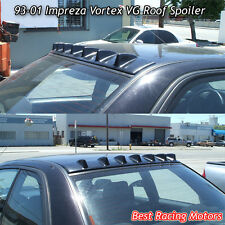 Vortex VG Style Roof Spoiler Wing (ABS Black) Fits 93-01 Impreza