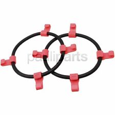 Snow chains, Clamping rubber with PVC-hook, Tyre size 4.80 / 4.00-8, 16 x 5.50-8