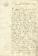 Iscrizione Registro delle Ipoteche di Arezzo sulla Dote Malvezzi Campeggi 1852