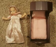 American Girl Doll Felicity's Baby Sister Polly Cradle Bedding 9851 Bonnet Bed