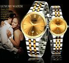 New Fashion Men Lady Watches Stainless Steel Sport Quartz Date Show Wrist watch