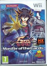 WII - YU-gi-oh 5d's Master of the Cards - Contiene 3 carte KONAMI - ITA NUOVO