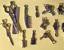 "EARRINGS PAIR YOU CHOOSE FROM Charms ""STYLIST"" Scissors Brush Dryer Comb"