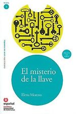El misterio de la llave(Libro +CD) Leer En Espanol Level 1 (Spanish Edition)