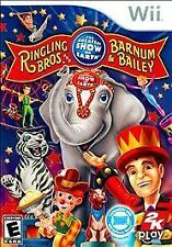 Ringling Bros. and Barnum & Bailey: Circus (Nintendo Wii, 2009) BRAND NEW SEALED