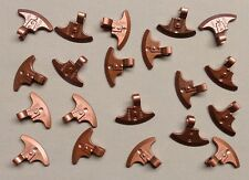 x20 NEW Lego Axe Heads Castle Hobbit LOR Lord of the Rings Minifig Weapon COPPER