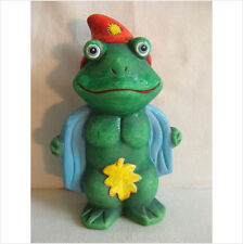 .LATEX MOULD/MOULDS/MOLD  NAUGHTY FLASHER FROG WITH LEAF