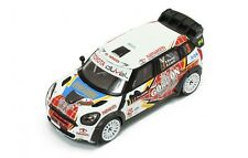 1/43 Mini WRC John Cooper Works Gordon Rally Valonia 2013 F. Duval