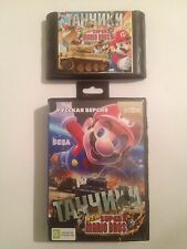 Super Mario Bros + Battle City Cartridge Sega Mega Drive Super Game