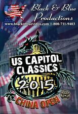 2015 U.S. Capitol Classics Karate Tournament and China Open DVD
