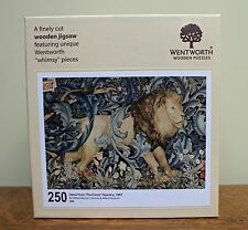 William Morris The Lion Wentworth Wooden Jigsaw Puzzle 250 Piece - Made in GB