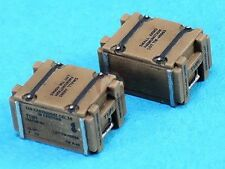 Legend 1/35 .50 Cal Wooden Ammo Crates WWII (100 Rounds) (10 pcs w/Decal) LF1298