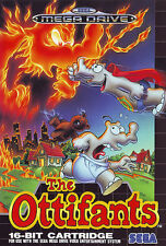 # Sega Mega Drive-The ottifants/MD juego #