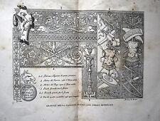 PADOVA ARTE DECORATIVA GRAFFITI SECOLO XVI