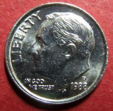 "ERROR COIN,  1988-P  ROOSEVELT DIME ""BROADSTRIKE"" (Double-Rimmed) ERROR COIN"