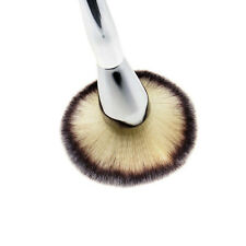 New Kabuki Flat Contour Blusher Powder Makeup Brush Nature Goat Hair Cosmetic