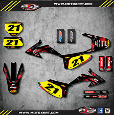 Honda CRF 230 F 2008 - 2014 Custom Graphic kit BARBED style decals / stickers