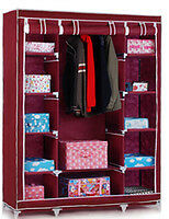 SUPER- FOLDING WARDROBE CUPBOARD ALMIRAH-XII- DOUBLE-MRN