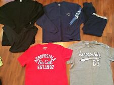 Mens XL Lot Aero Guy Harvey Hanes Tees Thermal Set Shirts