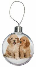 Cockerpoo Puppies Christmas Tree Bauble Decoration Gift, AD-CP3CB