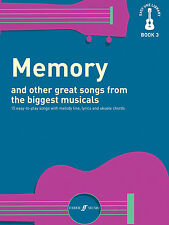 Easy Uke Library Memory Musicals Melody Lyrics Chords UKULELE FABER Music BOOK