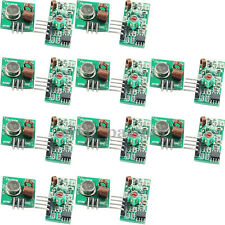 10PCS RF 433Mhz receiver  and transmitter kit for Arduino/ARM/MCU WL